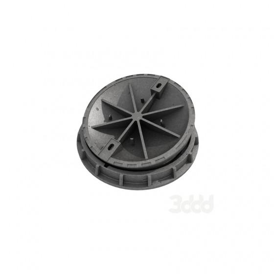 Люк СТ (Е600)-3-65 (аэродромный) под заливку бетоном ГОСТ 3634-99