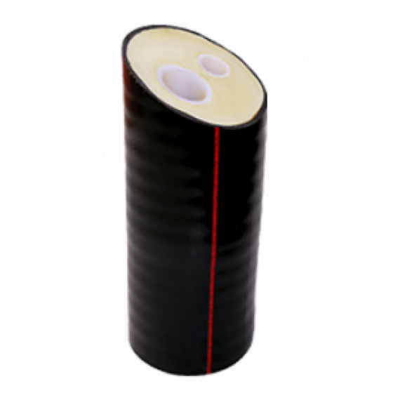 Труба двухтрубная ГПИ ИЗОКОМ PEX-a 95˚С 1,0МПа (32+32)/125