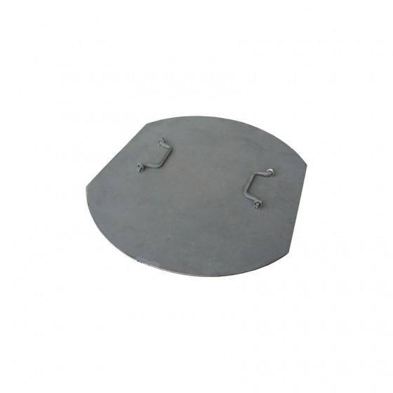 Промежуточная крышка стальная к ГТС тип «Л», «Т» под навесной замок