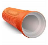 Труба гофрир.двустенная канализац. d 630/548 с раструбом и уплотнительным кольцом