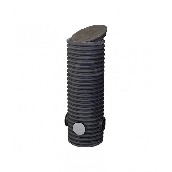 Колодец Ø 460/400 мм, дренажный смотровой h=1500 мм, с тремя отводами Ø 110 мм