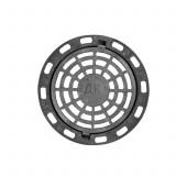 Люк чугунный дождеприемный круглый ДК 15тн Ø810×100 ГОСТ 3634-99