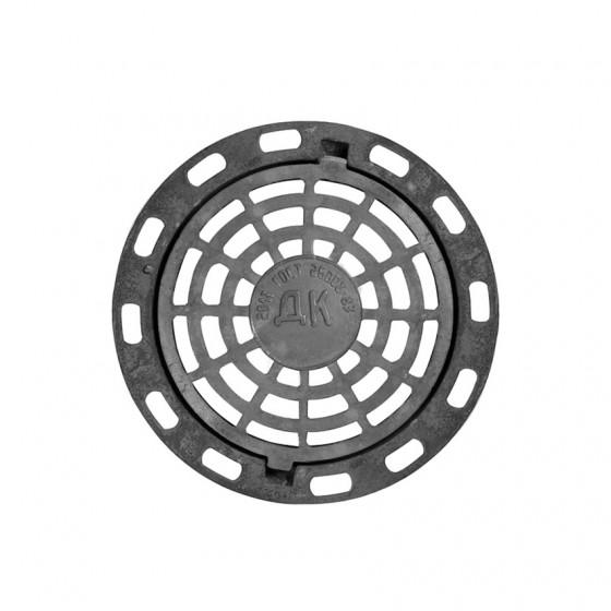 Люк чугунный дождеприемный круглый ДБ2 12,5 тн Ø840×100 ГОСТ 3634-99